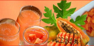 health benefits of papaya juice on skin and hair
